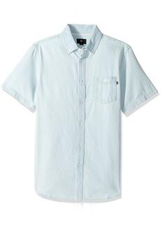 Obey Men's Keble Ii Woven Short Sleeve Shirt