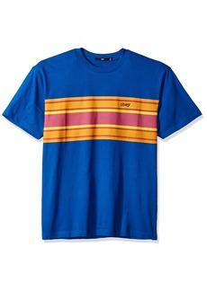 Obey Men's Kelly Box Short Sleeve Crewneck T-Shirt  L