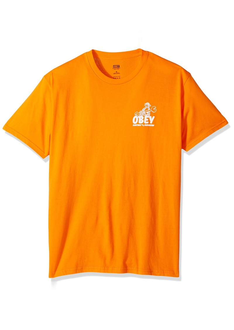 Obey Men's Monkey Wrench Regular Fit Premium T-Shirt  XL