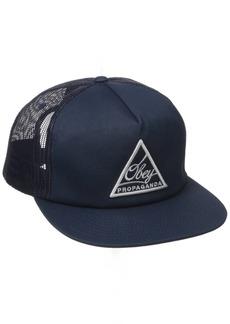 OBEY Men's New Federation Trucker Hat