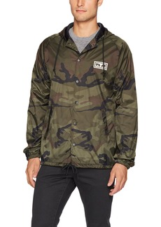 OBEY Men's No One Coaches Jacket  XL