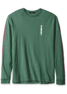 Obey Men's Permanent Vacation 2 Dyed Long Sleeve T-Shirt  M