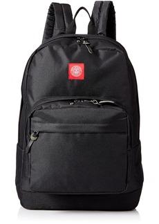 Obey Men's Revolt Red Juvee Backpack black