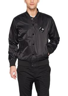 Obey Men's Roller Regular Fit Bomber Jacket  XL