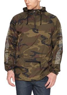 OBEY Men's Rough Draft Anaorak Jacket  L