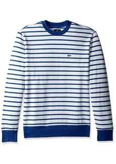 Obey Men's Saginaw Crew Neck Fleece Sweatshirt  2XL