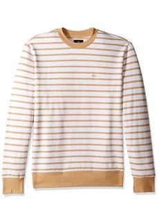 Obey Men's Saginaw Crew Neck Fleece Sweatshirt