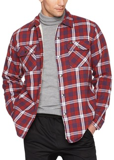 OBEY Men's Seattle Shirt Jacket red/Multi M