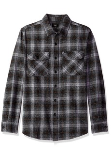 Obey Men's Shriner Long Sleeve Woven Shirt  L