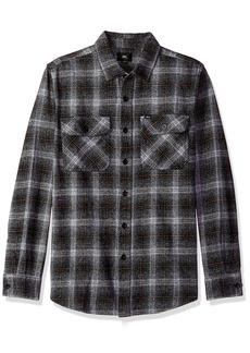 Obey Men's Shriner Long Sleeve Woven Shirt  S