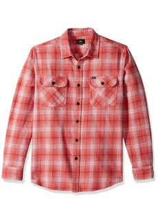 OBEY Men's Shriner Long Sleeve Woven Shirt  XL