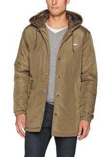 Obey Men's Singford Stadium Ii Hooded Jacket  XL
