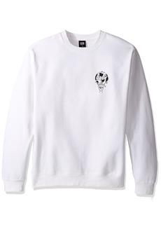 Obey Men's Smash It up Crew Neck Fleece Sweatshirt  2XL