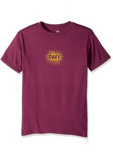Obey Men's Spazz Regular Fit Premium T-Shirt  M
