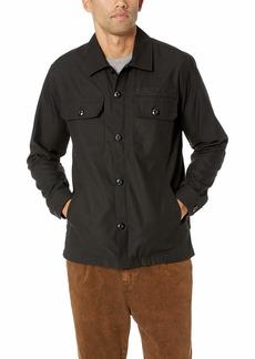 Obey Men's Station Military Shirt Jacket
