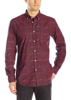 OBEY Men's Thicket Woven Long Sleeve Shirt