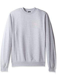 Obey Men's Underground Worldwide Crew Neck Fleece Sweatshirt
