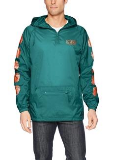Obey Men's Unwritten Future Hooded Nylon Anorak Jacket  M