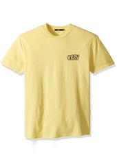 Obey Men's Unwritten Future Short Sleeve Crew Neck T-Shirt  M
