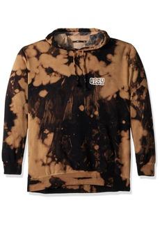 Obey Men's Unwritten Future Tie Dye Hooded Sweatshirt  L