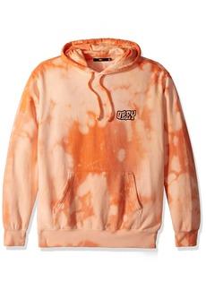 Obey Men's Unwritten Future Tie Dye Hooded Sweatshirt  S