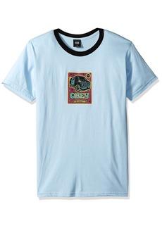 Obey Men's Van Lightweight Short Sleeve T-Shirt  M