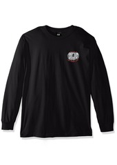 OBEY Men's Welcome to The Other Side Long Sleeve Tee  M
