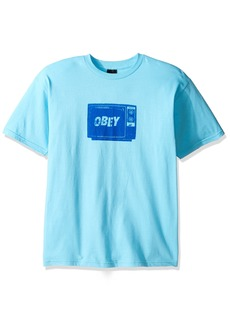 Obey Men's What to Think Regular Fit T-Shirt