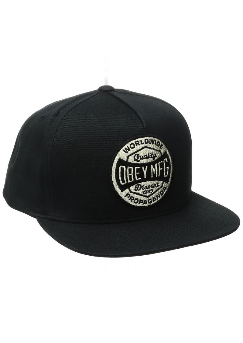 OBEY Men's Worldwide Dissent Snapback Hat