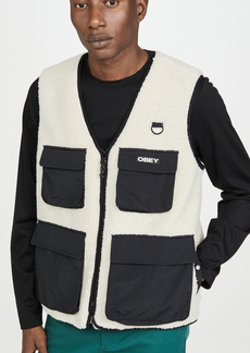 Obey Mountaineer Sherpa Vest