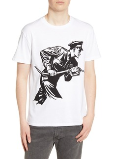 Obey Never Stop Charging Graphic T-Shirt