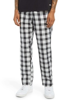 Obey Newton Plaid Pants