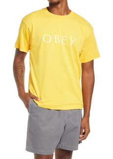 Obey Novel 2 Logo Graphic Tee