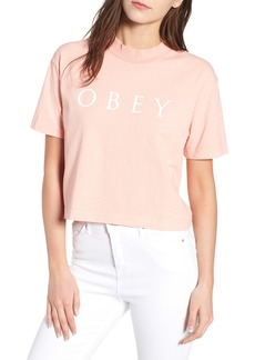 Obey Novel Obey II Crop Tee