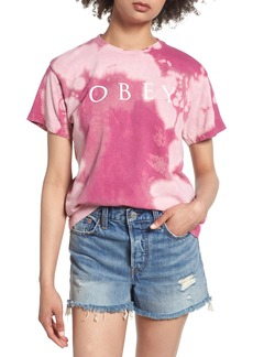 Obey Novel Tie Dye Tee
