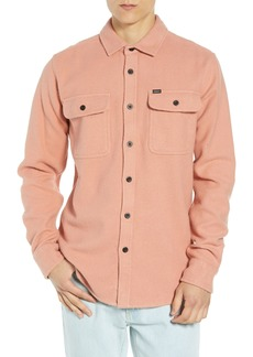 Obey Outpost Flannel Shirt Jacket