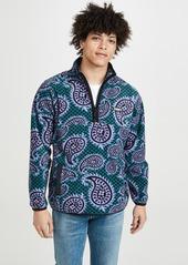 Obey Paisley Mock Neck Sweatshirt
