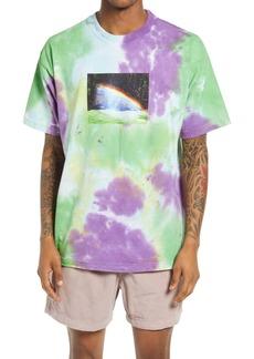 Obey Rainbow Tie Dye Graphic Tee