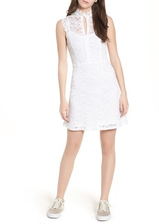 Obey Rapture Lace Keyhole Dress