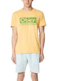 Obey Records & Cassettes Tee