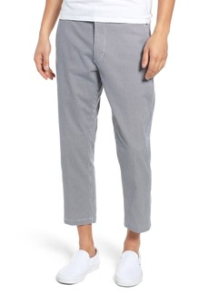 Obey Relaxed Fit Houndstooth Cropped Pants