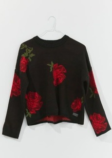 OBEY Rhyme Rose Crew Neck Sweater