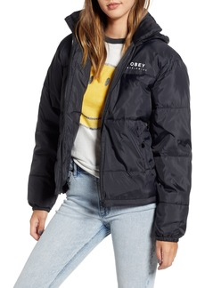 Obey Ruby Water-Resistant Puffer Jacket