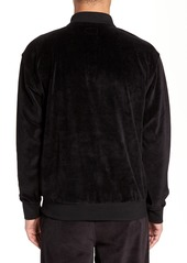 Obey Saucer Long Sleeve Velour Polo