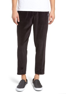 Obey Saucer Slim Fit Velour Pants