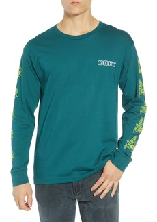 Obey Scorpion Rose Long Sleeve T-Shirt