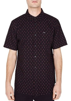 OBEY Screw-Print Short-Sleeve Regular Fit Shirt