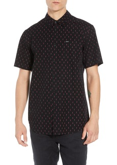 Obey Screw Print Woven Shirt