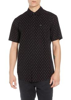 Obey Screw Print Woven Shirt