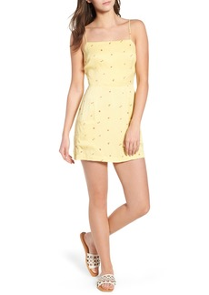 Obey Shilo Fruit Print Minidress